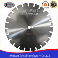 Best 400mm Laser Welded Diamond Blades , Dry Wet Saw Blades For Highway / Road Works wholesale