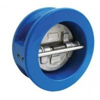 Quality Double Door Swing Check Valve Wafer 80MM , Cast Iron , EPDM Seat By PN16 wholesale