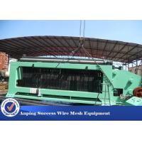 Best High Speed Gabion Mesh Machine With PLC Automatic Control / Hydraulic Drive wholesale