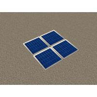 Best Solar Wooden Garden Floor Tile with LED wholesale