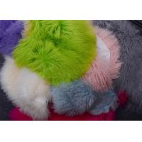 Best Mongolian Sheepskin Rug Luxury Real Long Curly Haired Tibetan Lambskin fur wholesale