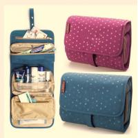Best Colorful Travel Travel Makeup Bag , Cosmetic Rolling  Travel Bags For Women wholesale