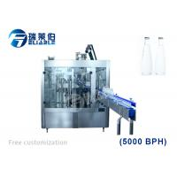 Best 5000BPH Automatic Beer / Carbonated Drink Filling Machine For Glass Bottle wholesale