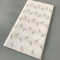 Cheap Flat Pvc Panels For Ceiling , Waterproof Bathroom Ceiling Panels Brilliant Printing for sale