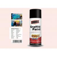 Best Plastic White Color Graffiti Spray Paint Fastest Dry TimeFor Indoor / Outdoor Projects wholesale