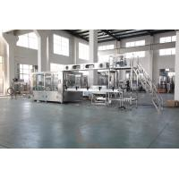 Quality Auto Plastic Bottle Water Filling Machine With PLC Control Stainless Steel Material wholesale