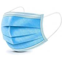 Buy cheap Skin-Friendly 3 Ply Non Woven Face Mask High Safety Face Protection from wholesalers