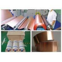 Best 7 Mic LB Single Shiny Copper Thin Sheet High Temperature Resistance wholesale