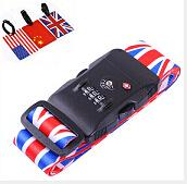 Best Sublimation printing luggage strap/suitcase strap/belt wholesale