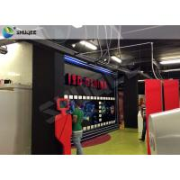Best Truck Mobile Cinema 5D Movie Theater Motion Cinema Theater System Special Effect wholesale