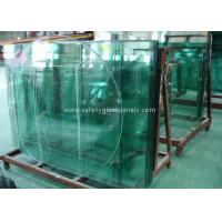 Quality Doors Coated Tempered Safety Glass Decorative Curved Toughened Glass wholesale