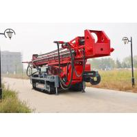 Best The maximum hole depth1500m  DTH RC Top Drive Rig Water Well Drilling Rig With Crawler Mounted wholesale