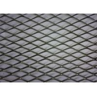Best PVC Coated Diamond Aluminium Expanded Mesh With Modern House Design Wallpaper wholesale
