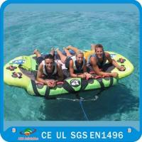 Quality Inflatable Water Ski Tubes, Inflatable Towable Pvc Tube Boat For Sale wholesale