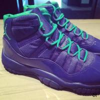 Best Shox Nike Air Jordan 11 Violet Shoe on koonba.com wholesale