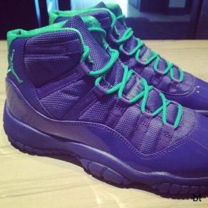 Best Shox Nike Air Jordan 11 Violet Shoe on koonba.com wholesale