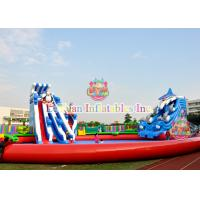 Best Custom Animals Inflatable Water Park Equipment With Digital Printing wholesale