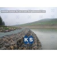 Best Galvanized Wire Stone Gabion Basket For River Crossing / Marinas / Seashore Protection wholesale