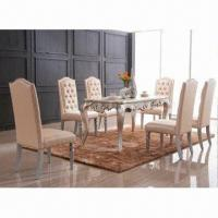 Best Solid Wood Exquisite and Royal Dining Table Set wholesale