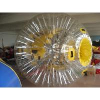 Quality PVC Interesting Transparent Inflatable Zorb Ball Water Entertainment Ball also Space walking balls wholesale