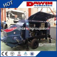 Best 20m3 25m3 30m3/H Small Trailer Concrete Pump with Electric or Diesel Power wholesale