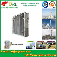 Best Coal Fired Boiler Air Preheater 10 Ton - 1000 Ton Corrosion Resistance wholesale