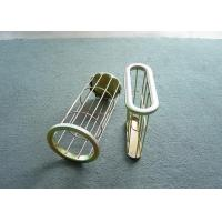 Best Flat / Oval Bag Filter Cage Carbon Steel Dust Collector Cages with Venturi wholesale