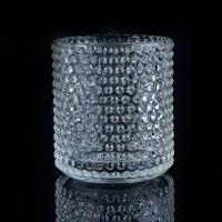 Best Clear Nail glass candle holders for wedding , glass flower candle holder wholesale