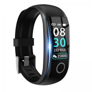 """Best Body Temperature IP67 0.96"""" Smart Heart Rate Wristband wholesale"""