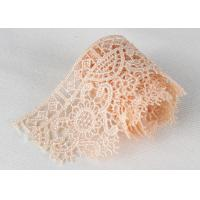 Best Poly Venice Lace Trims Custom Embroidered Water Soluble Lace For Wedding Dresses wholesale