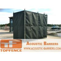 Best Temporary Sound Barriers Fence Covered with Noise Blanket wholesale