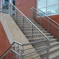 Cheap Solid Rod Stainless Steel Railing Design for Balcony / Stairs for sale