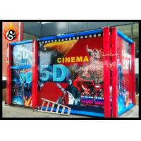 Best 5D Cinema Equipment with 5.1 Channel Audio System and Dynamic Chair wholesale
