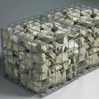 Best Foldable Welded Mesh Gabions|Galvanized Wire 2''x2'' for Architectural Uses wholesale