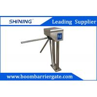Best Tripod Security Barrier Gate With 0.5M Pole , Swipe Card Door Entry Systems  wholesale