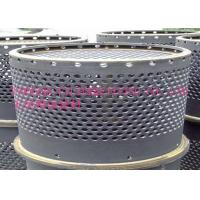 China SUS304 / 316 Centers Perforated Metal Tube For Filtration Element on sale