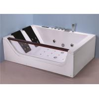 Best Ergonomic Bathing Jacuzzi Whirlpool Bath Tub With Optional Pump Location wholesale