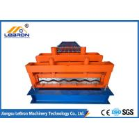 Best Orange color steel glazed tile roll forming machine PLC control automatic made in china long time service wholesale