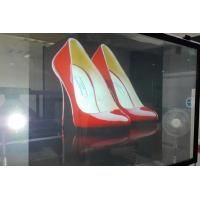 Quality Customized Rear Projection Film / clear holographic film IN Window Advertising wholesale