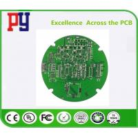 Best Round Shape Double Sided PCB Board Fr4 Base Material For Telecommunication Equipment wholesale