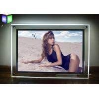 China Wall Mounted Custom LED Light Box Sign Panels Picture Frame For Advertising on sale