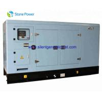 China ISO Certificated  Super Quiet Diesel Generators / 230kw Soundproof Diesel Generator Set on sale
