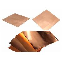 Best Shield Copper Foil Sheet  0.15mm - 8mm Thickness wholesale