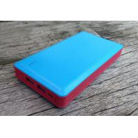 Cheap Dual USB External Power Bank 13200mAh 1000mA For Cell Phone , Portable for sale
