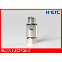 """Best 1/2"""" Feeder Cable Rf Connector Adapter , DC 3GHz N Straight Female Connector wholesale"""