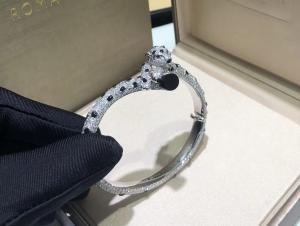 Best 15.74 Carats 706 Diamonds Panthere De Cartier Bracelet 18k White Gold wholesale