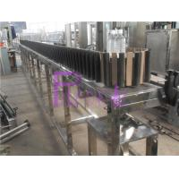 China Glass Bottle Reverse Automatic Sterilizer For Hot Filling Line on sale