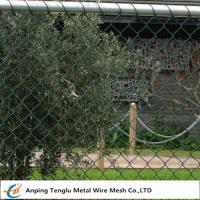 Buy cheap Chain Wire Fencing|Chainlink or Chainmesh Made by Steel Wire 25mmx2.0mm Specification from wholesalers