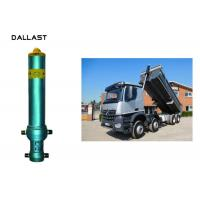 Best Piston Rod Single Acting Dump Truck Hydraulic Cylinder Steel Material Customized wholesale