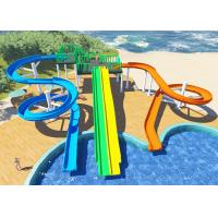 Best Personalized Household Water Park Design Multicolors Fiberglass Body wholesale